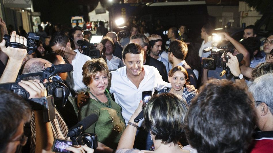 Medienstar Renzi, Anhänger Selbstsicher, forsch, volksnah