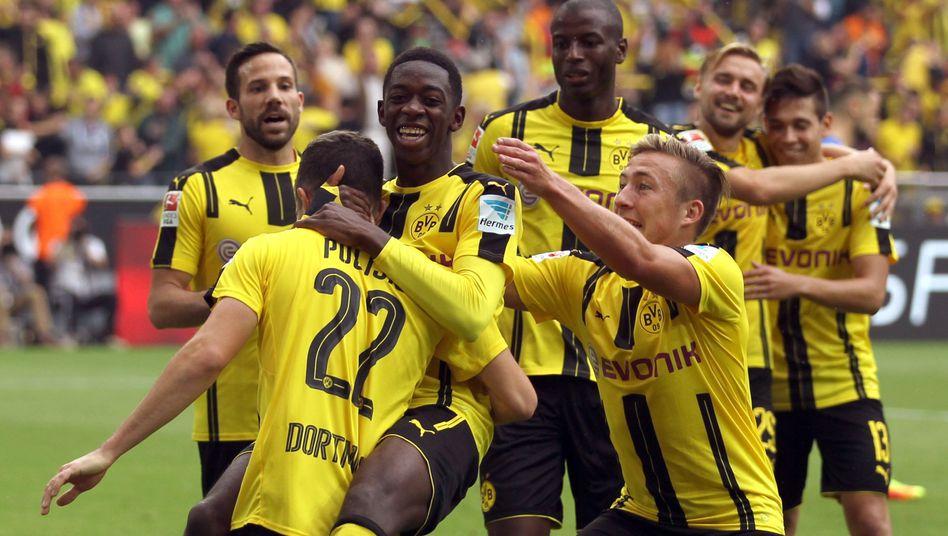 Profis von Borussia Dortmund