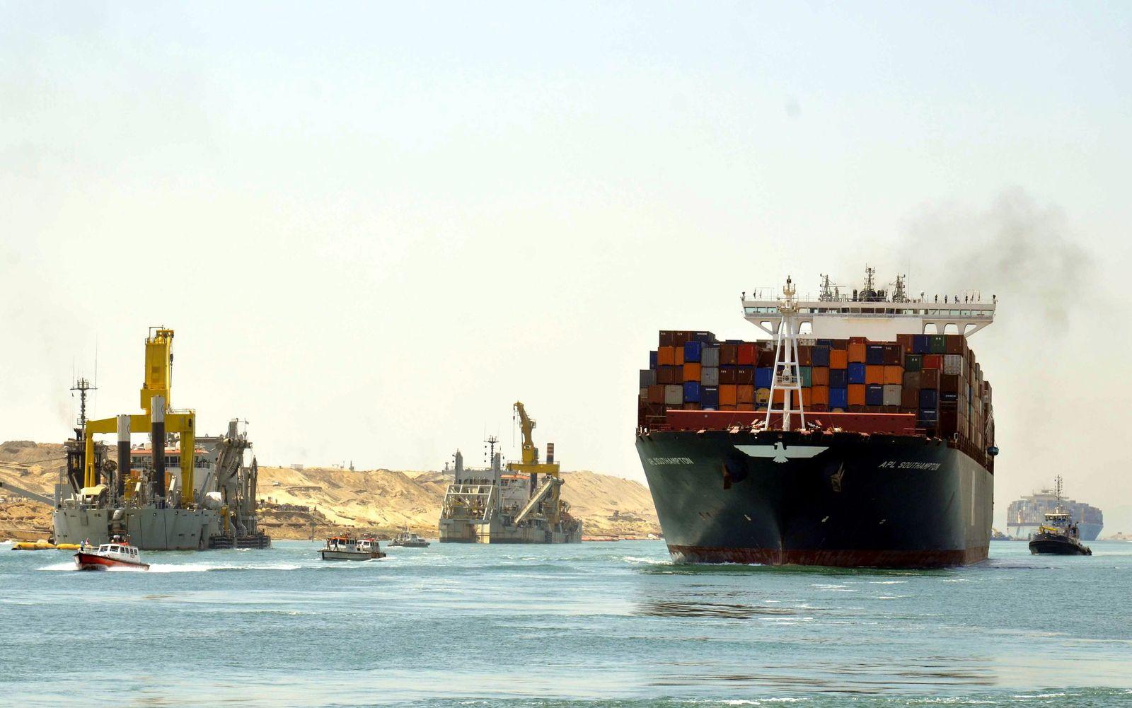 Ägypten/ Suezkanal/ Erweiterung