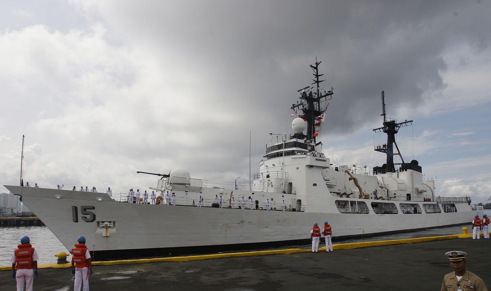 Kriegsschiff Philippinen