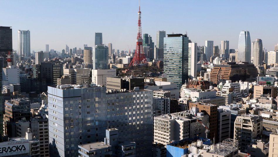 Skyline von Tokyo
