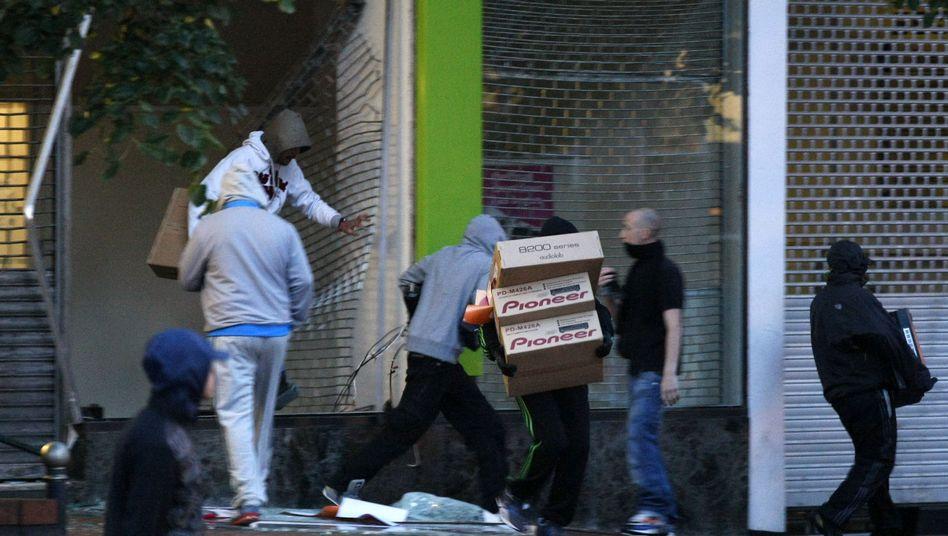"""Plünderer in Birmingham: """"Das hätte doch jeder von uns gemacht"""""""