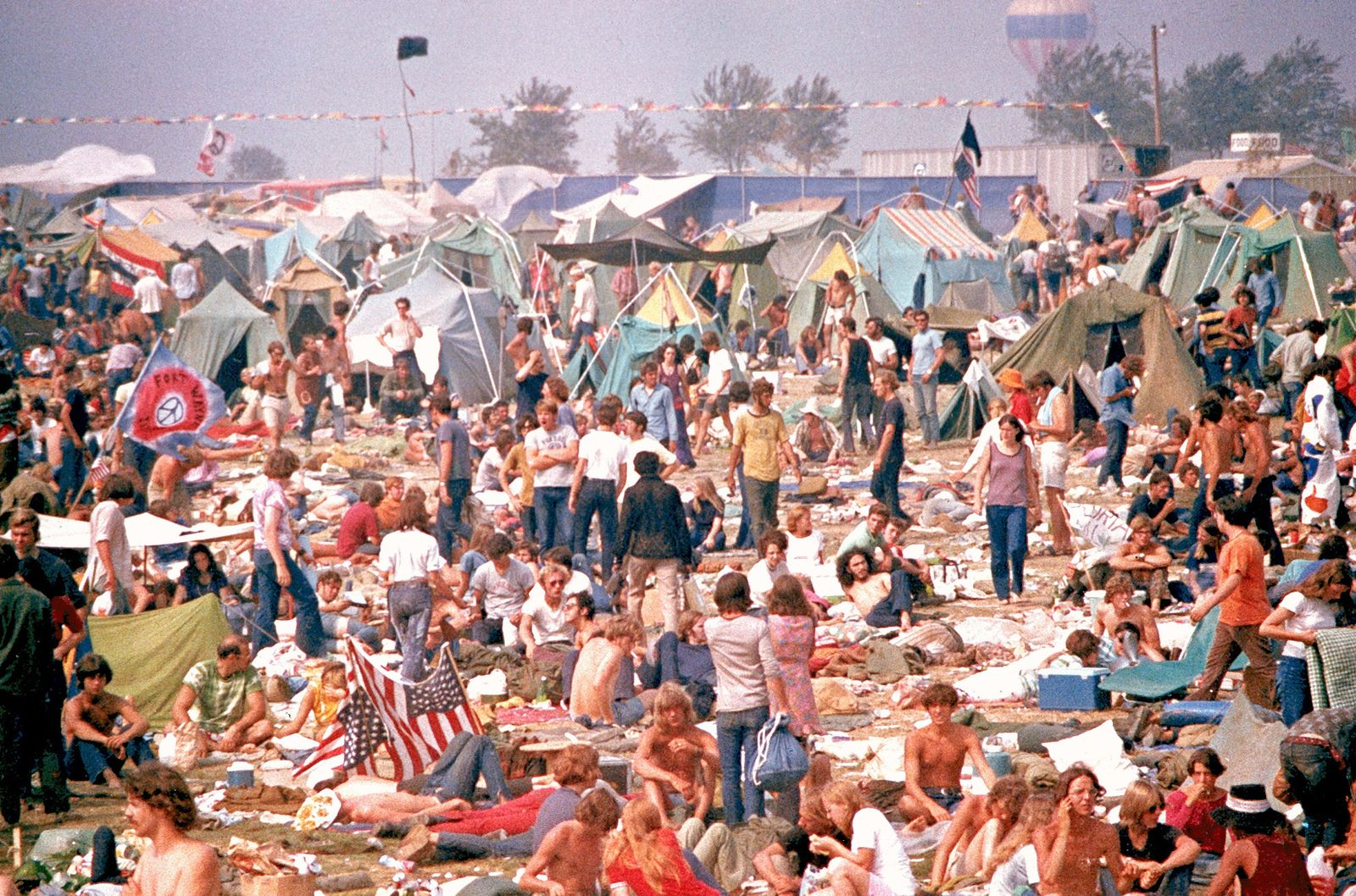Hippie Festival / Rolling Stones