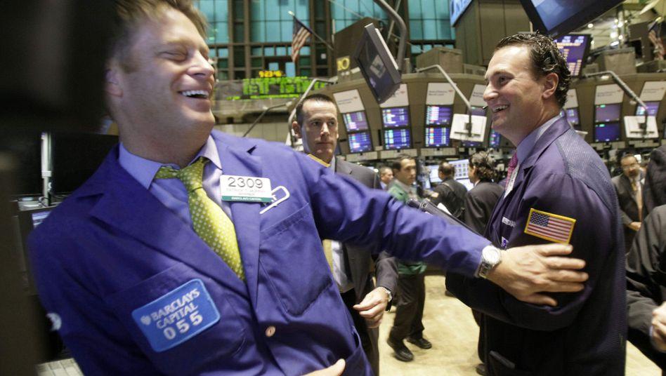 Händler an der Wall Street: Diskrete Beratung für die Finanzindustrie