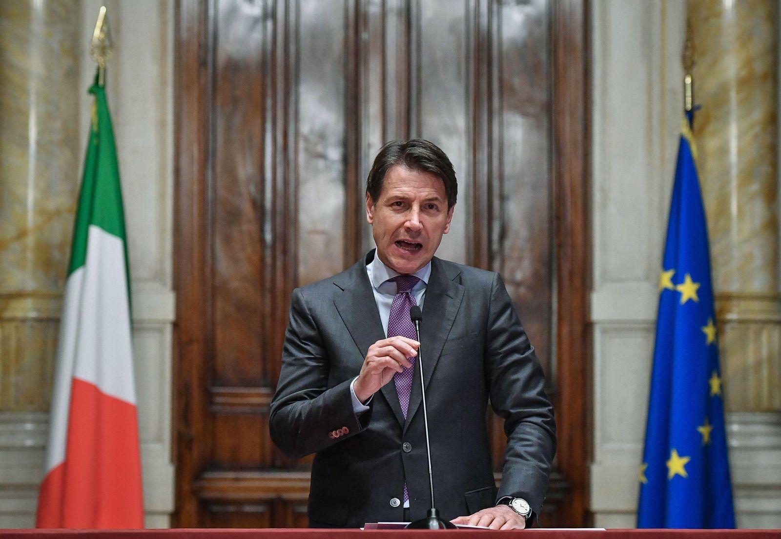 Italien Giuseppe Conte