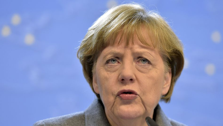Angela Merkel nach Verhandlungsmarathon: Sanktionen sind weiter angemessen