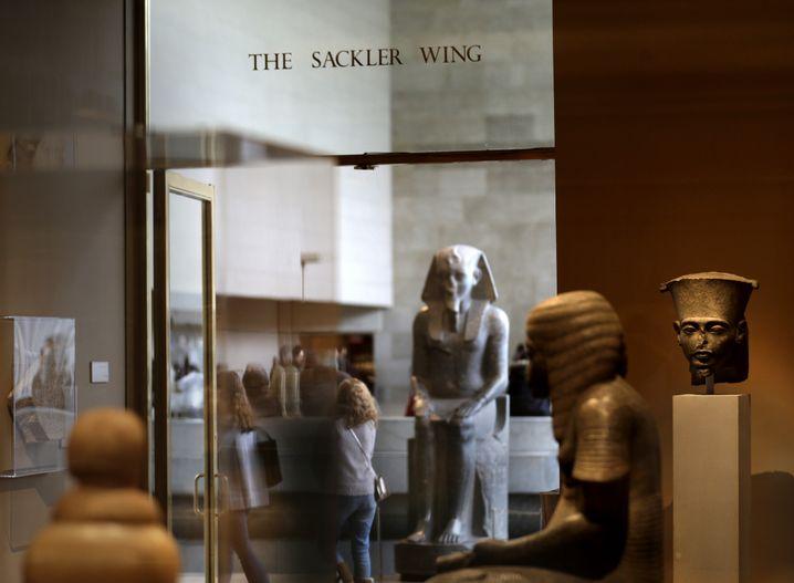 Der Sackler-Flügel im Metropolitan Museum of Art in New York