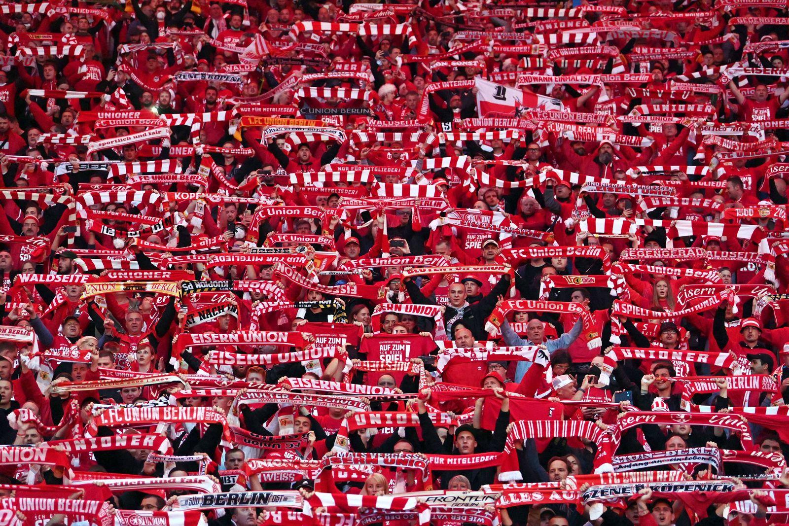 Fussball, Herren, Saison 2021/2022, Play-offs zur Europa Conference League (Rückspiel), 1. FC Union Berlin - Kuopion PS