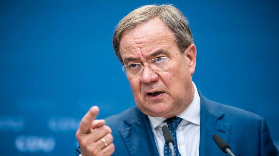 CDU-Chef Laschet: Auch ein Zeichen an die eigenen Leute