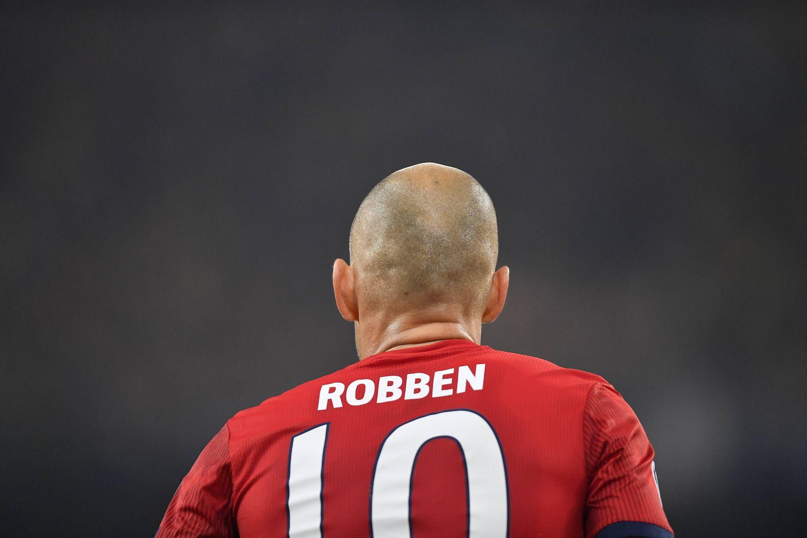 EINMALIGE VERWENDUNG Arjen Robben/ FCB