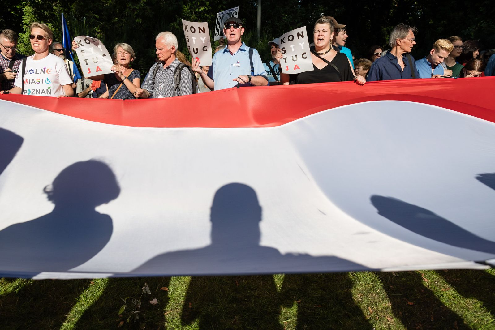Polen/ Justizreform/ Protest