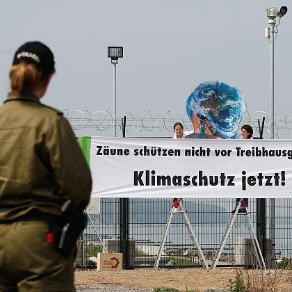 Umweltschützer in Heiligendamm: Schlechtes Klima beim G-8-Gipfel