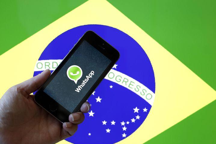 WhatsApp in Brasilien: Fake News verbreiten sich rasend schnell