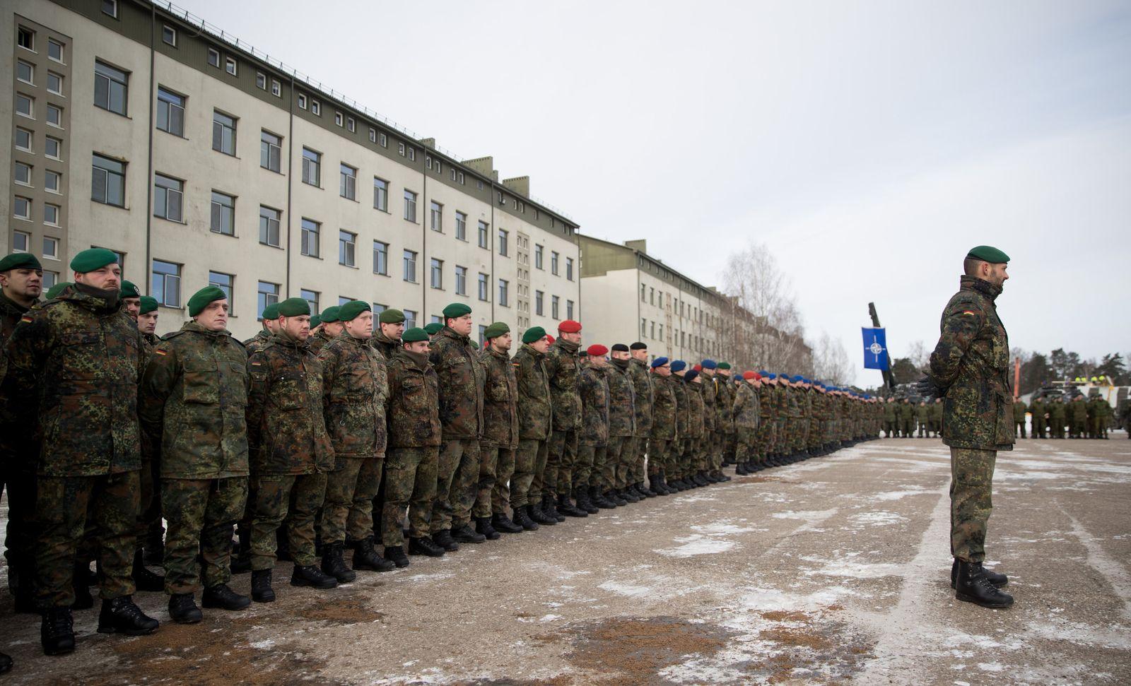 Bundeswehrsoldaten/ Litauen