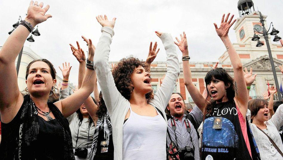 Proteste in Madrid: »Wir sind keine Ware«