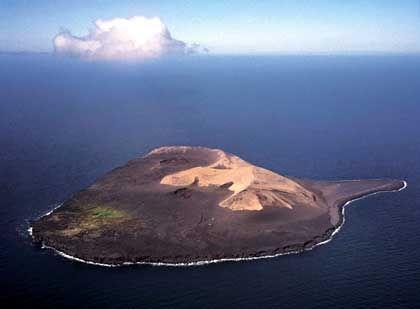 Surtsey-Vulkan: Anfangs 2,5 Quadratkilometer groß