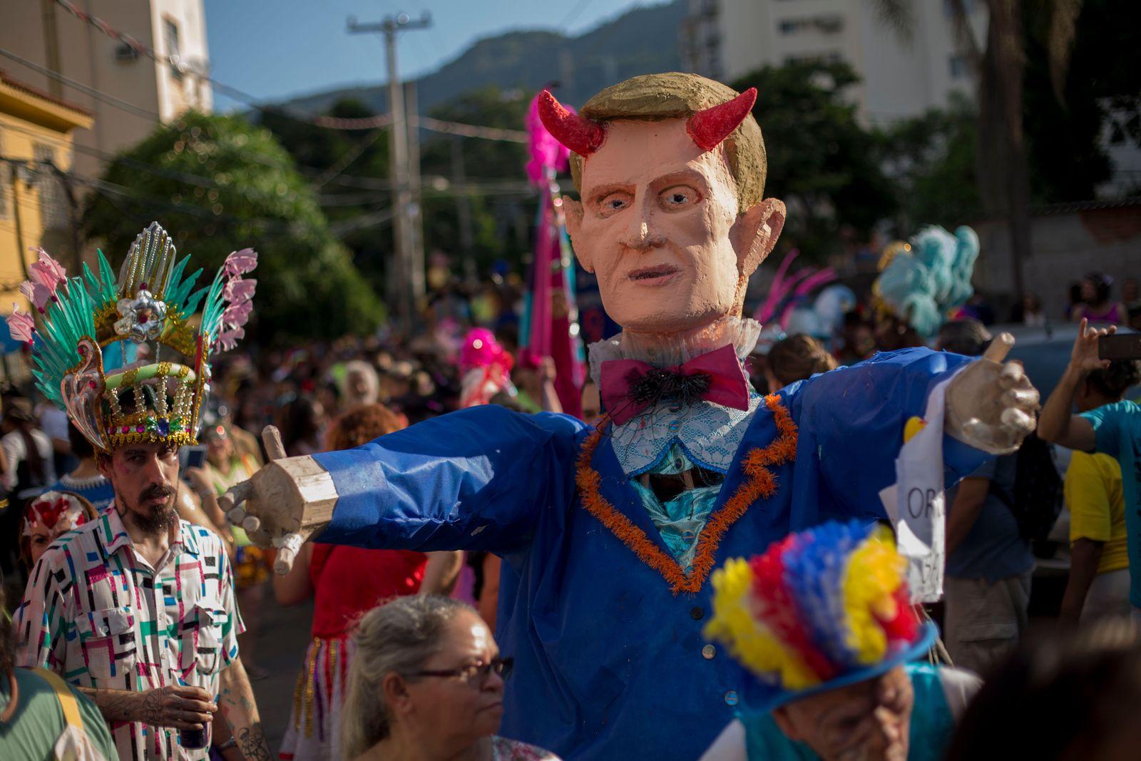 Brasilien / Karneval / Marcelo Crivella
