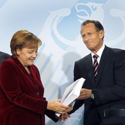 Merkel, Rürup: 627-seitige Analyse der wirtschaftlichen Lage
