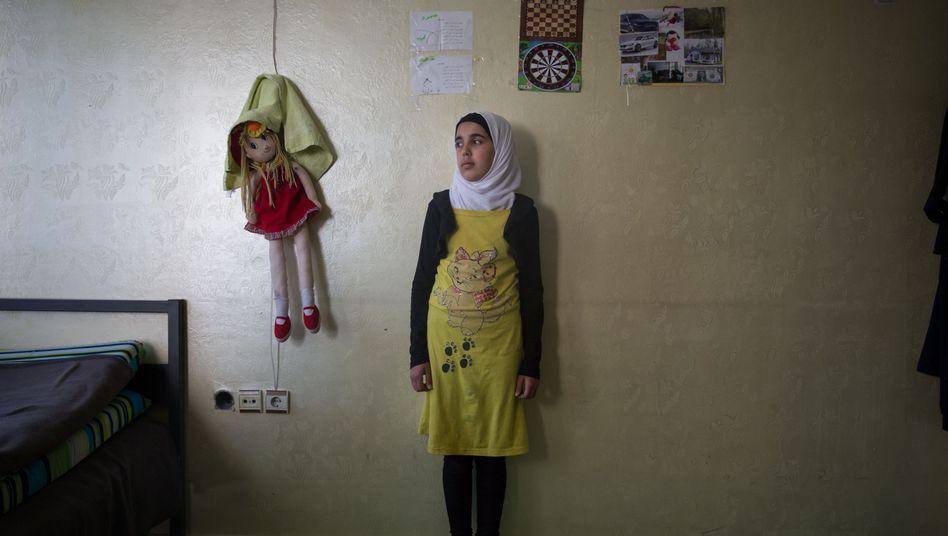 Syrisches Mädchen in der Türkei