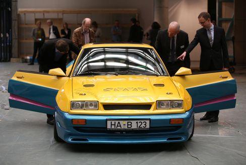Dieses Exemplar aus dem Film »Manta, Manta« ist wohl der berühmteste aller Opel Manta