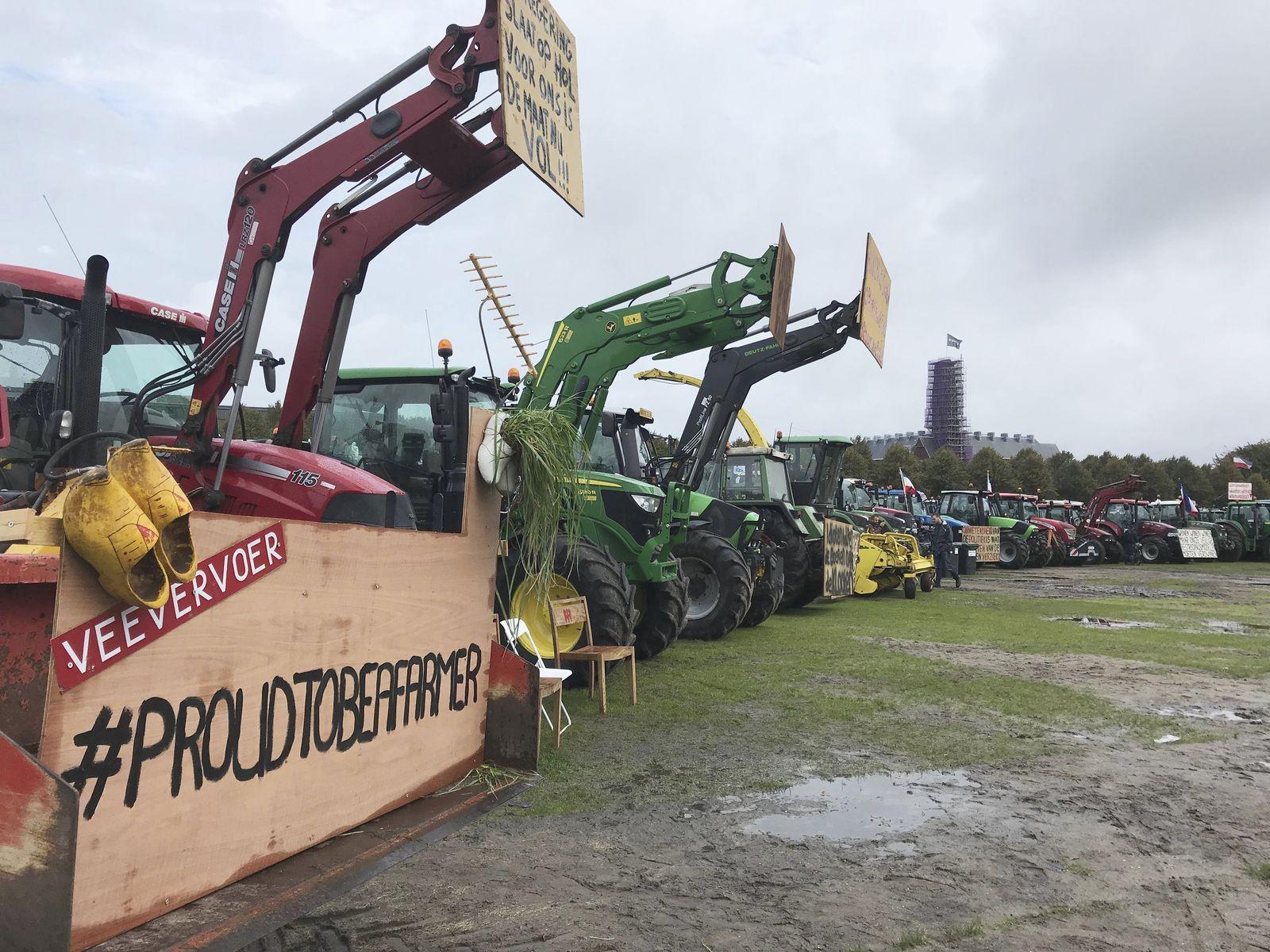 Niederlande Bauern Protest