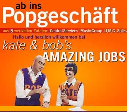 Kate und Bob: Schön doofe Werbeaktion mit Schrill-Appeal für verschiedenste Zielgruppen