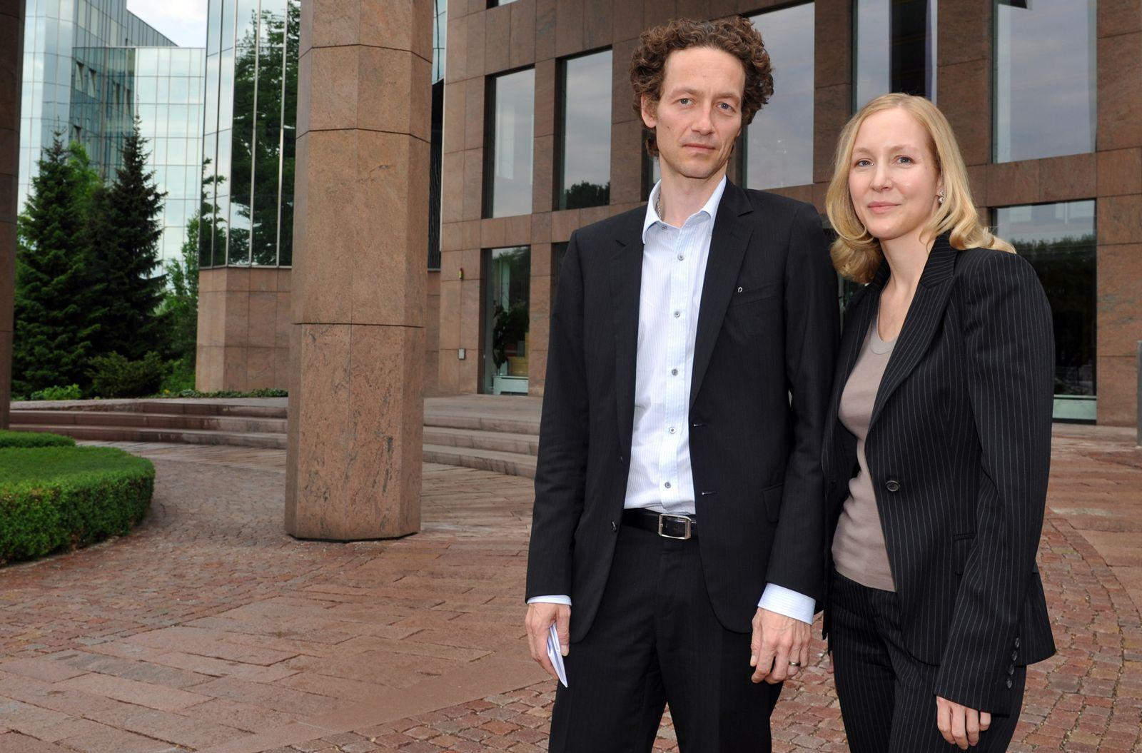 Lars und Meike Schlecker