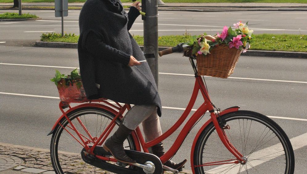 Hilfe für Radfahrer: Rettung vor dem Abstieg