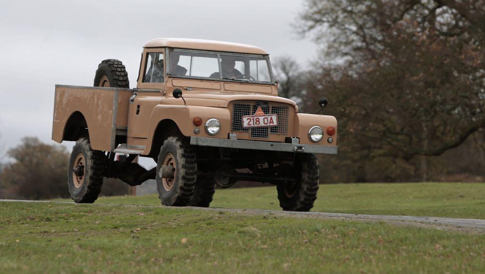 Land Rover Prototyp 129: Das Relikt