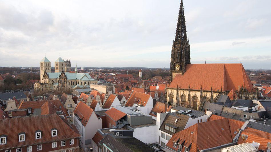 Dom und Lambertikirche in Münster: Für den Zusammenhalt der Gesellschaft