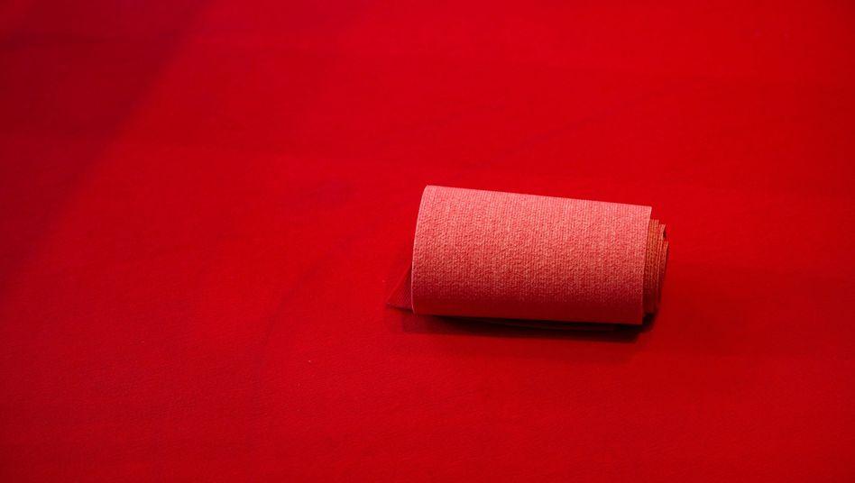 Der rote Teppich auf der Berlinale