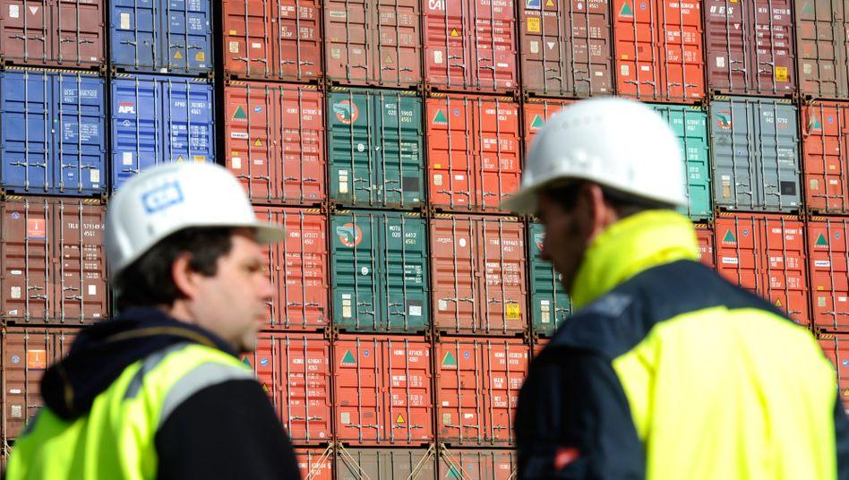 Exportgüter im Hamburger Hafen: Viele Details von TTIP ungeklärt