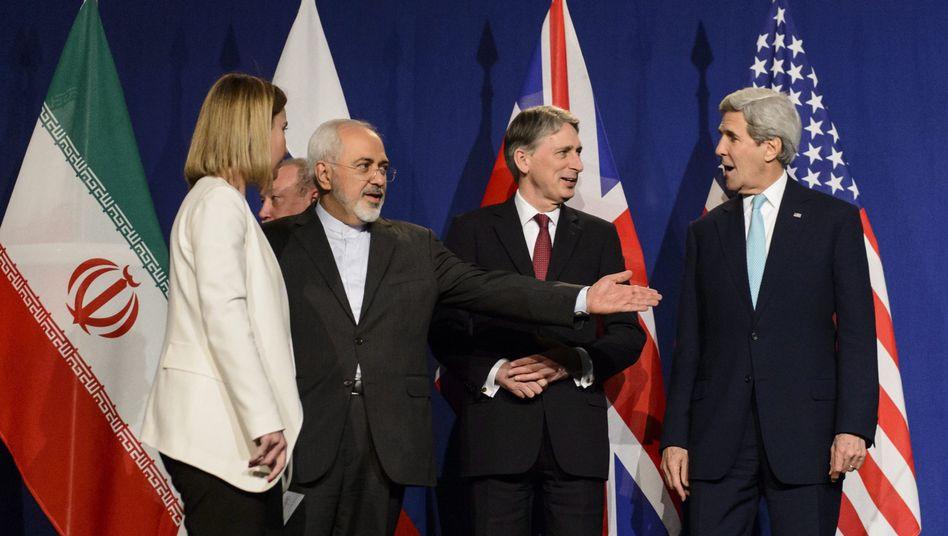 Verhandlungen in Lausanne: Durchbruch im Atomstreit mit Iran