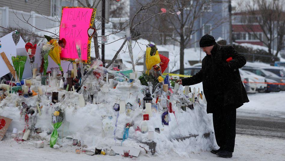 Gedenkstätte für die Opfer von Québec