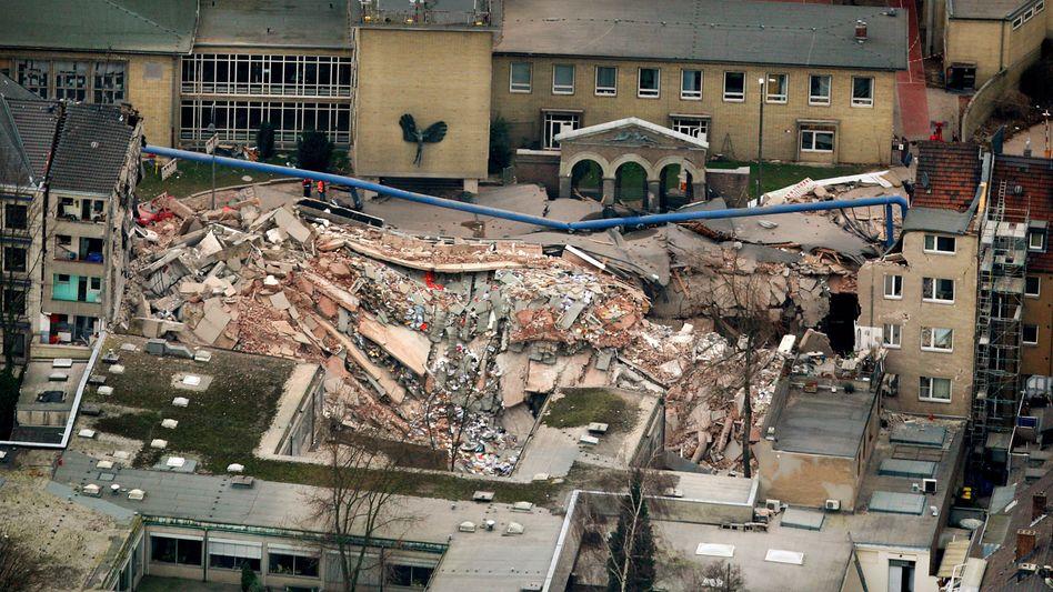 Unglücksstelle in Köln (im März 2009)