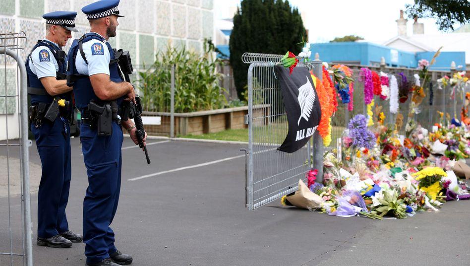 Trauerbekundung in Neuseeland