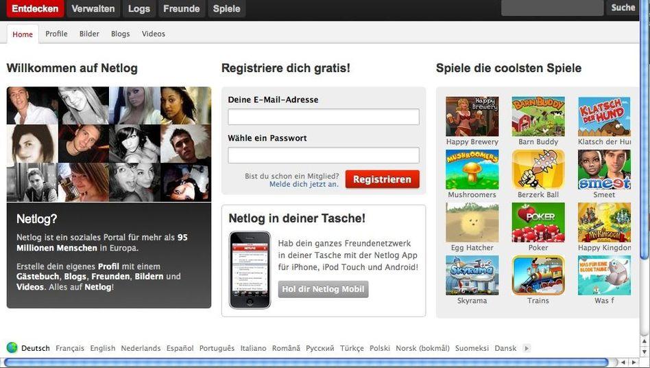 Soziales Netzwerk Netlog: Muss von Nutzern hochgeladene Inhalte nicht vorab prüfen