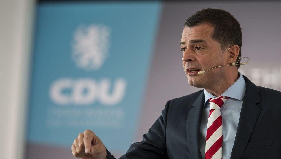 Mike Mohring: Der CDU-Politiker bekam bereits Ende September Drohbriefe