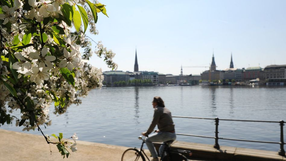 Radfahrer in Hamburg: Neue Studie untersucht gesundheitliche Aspekte des Radelns