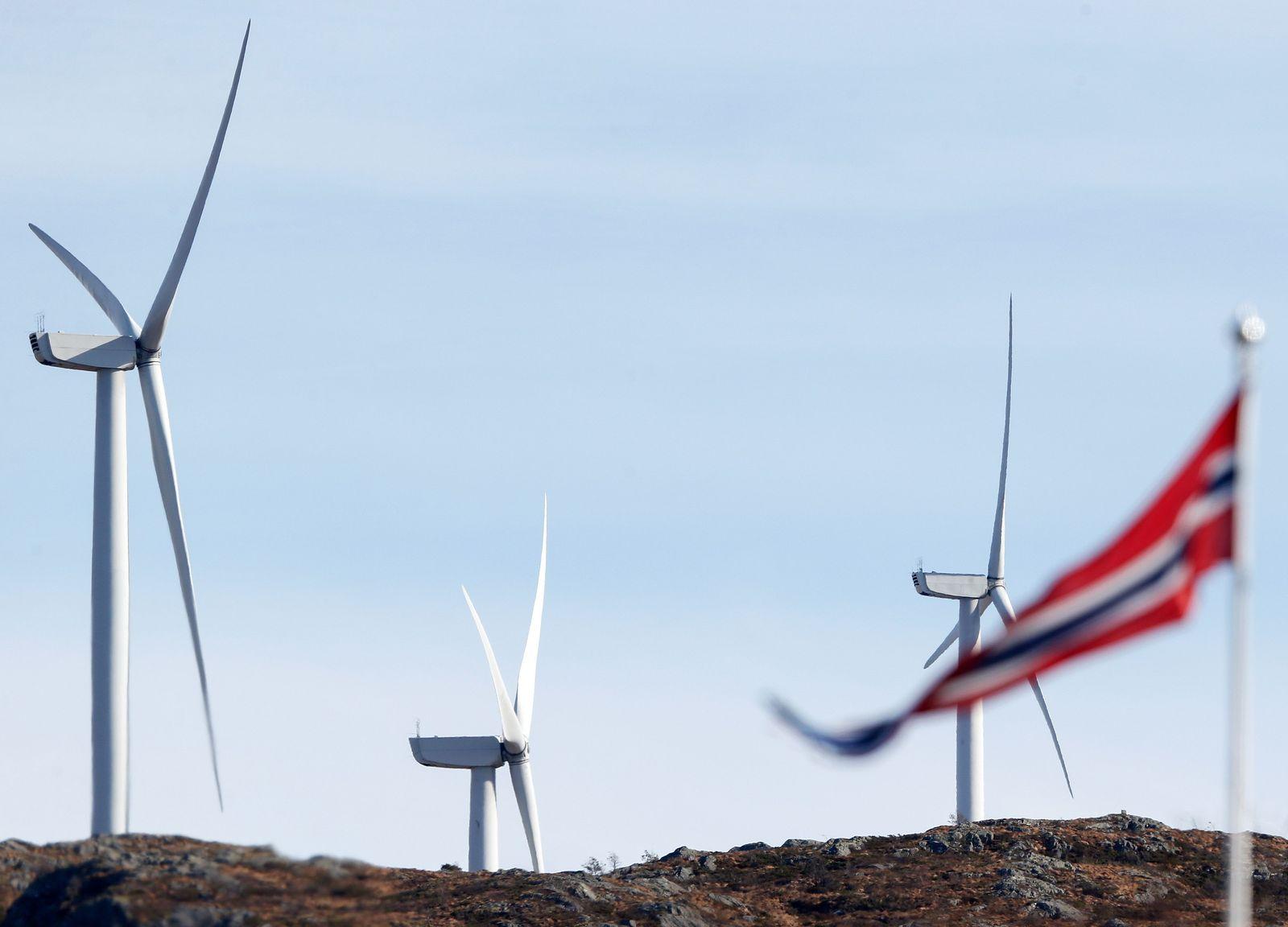 Norwegen / Windenergie /