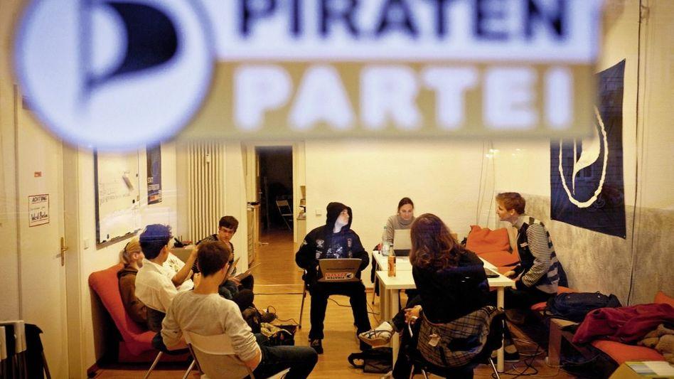 Treffen der Jungen Piraten in Berlin: Sie treibt keine Idee an, sondern der Glaube an die Macht der Technik