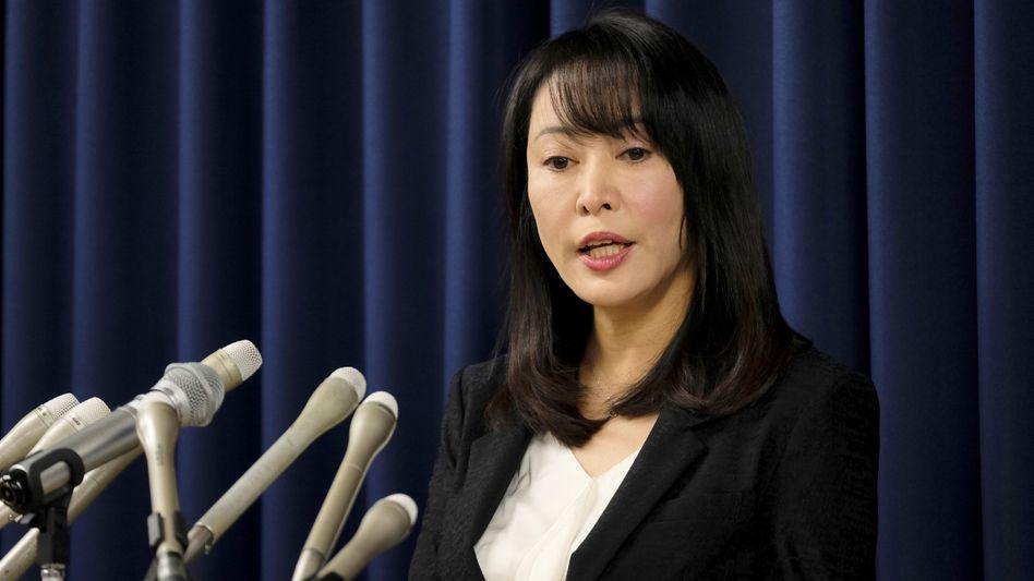 "Justizministerin Masako Mori in Tokio: ""Extrem grausamer und brutaler Fall"""