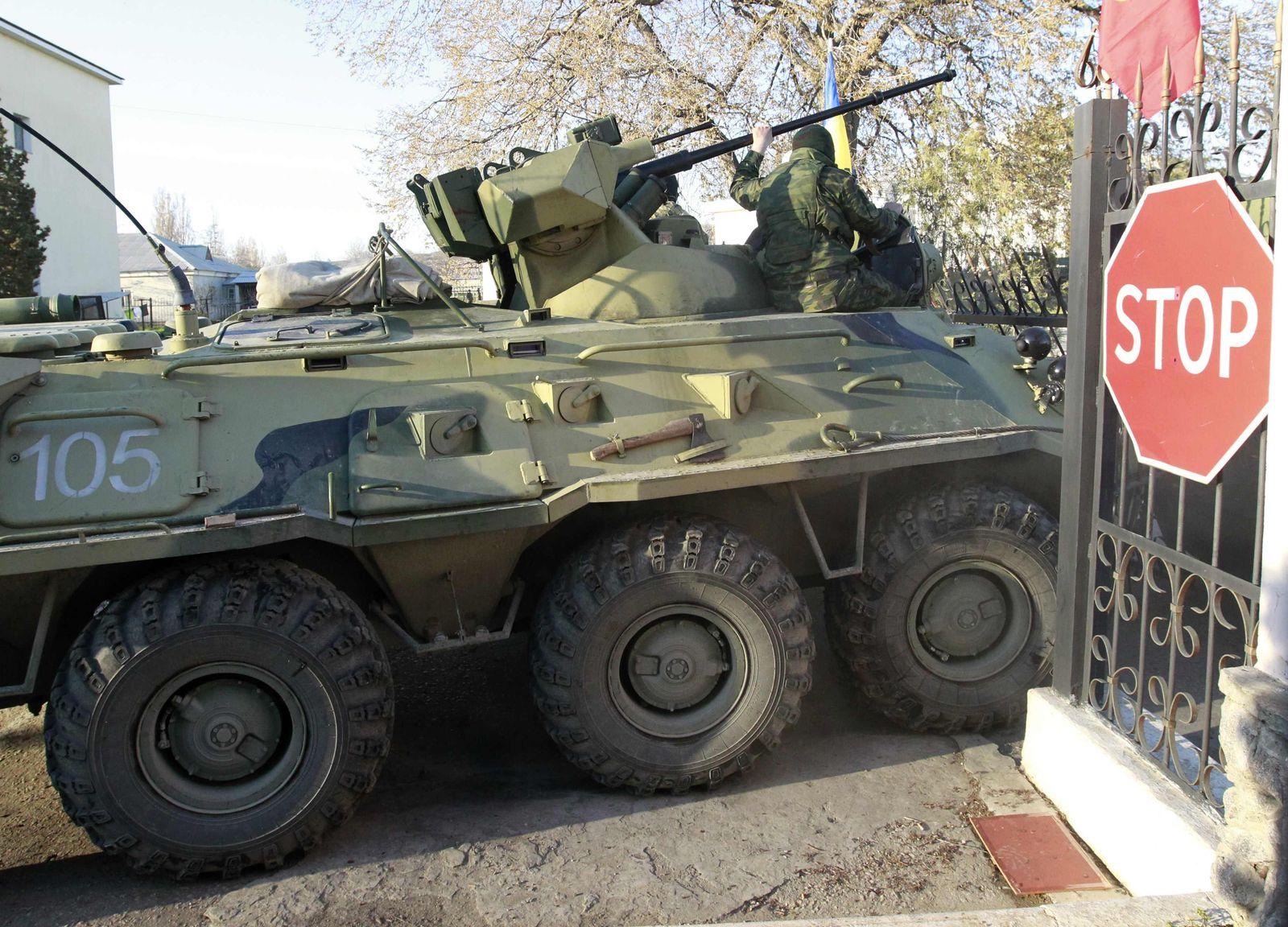 Russland Ukraine Krim Belbek