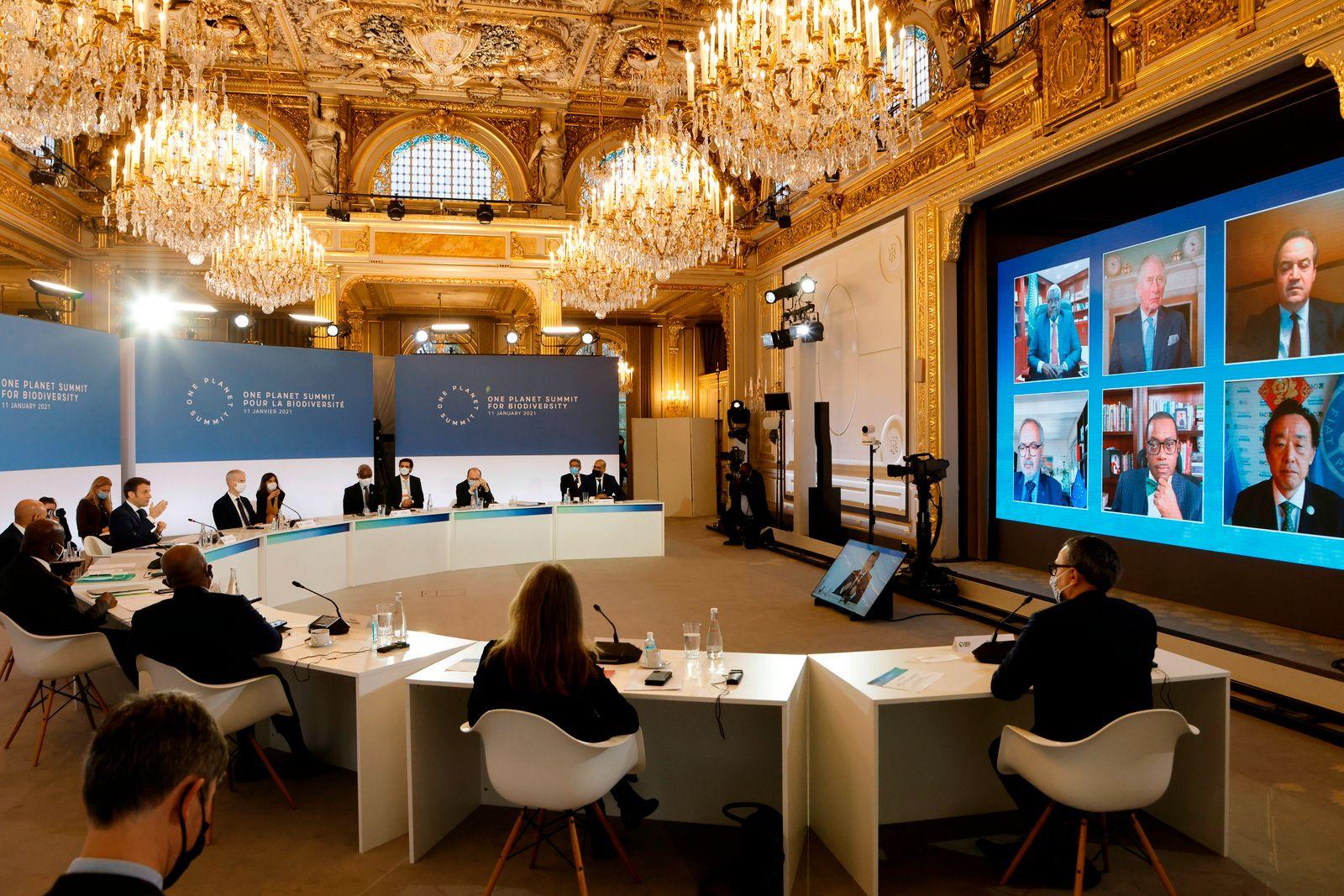 Klimagipfel «One Planet Summit» in Paris