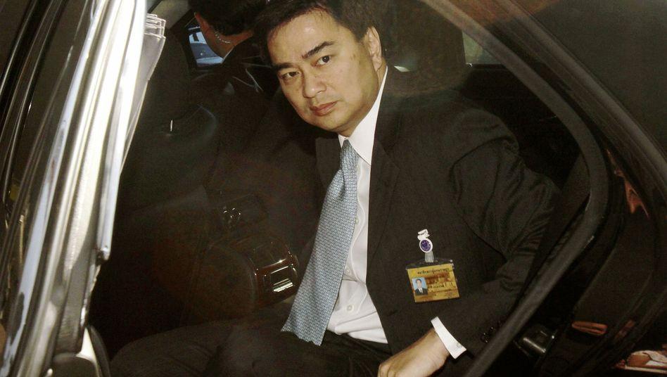 Thailand's Prime Minister Abhisit Vejjajiva.