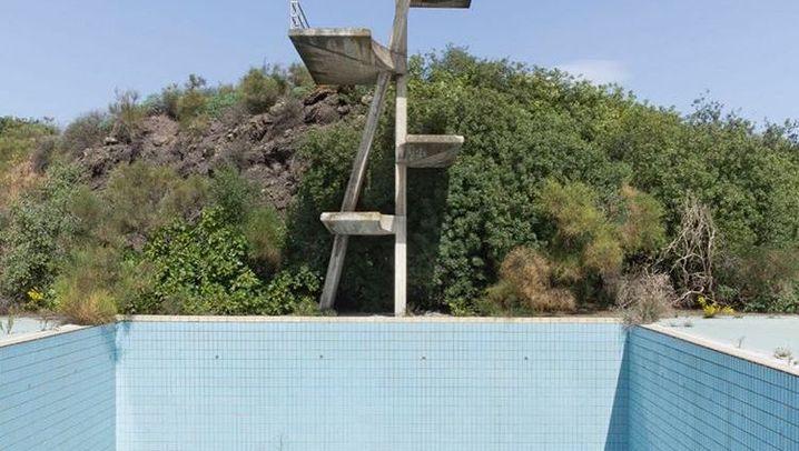 Siziliens Betonruinen: Verwaiste Sprungbretter, menschenleere Krankenhäuser