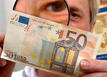 50-Euro-Blüte: Die Scheine, die einfach zerbröseln, sind allerdings echt