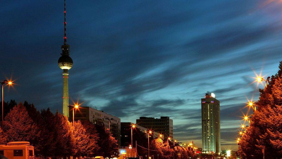 Straßenbeleuchtung in Berlin