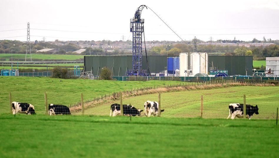 Fracking-Anlage in der Preston New Road: Heftigstes Beben seit Beginn der Arbeiten