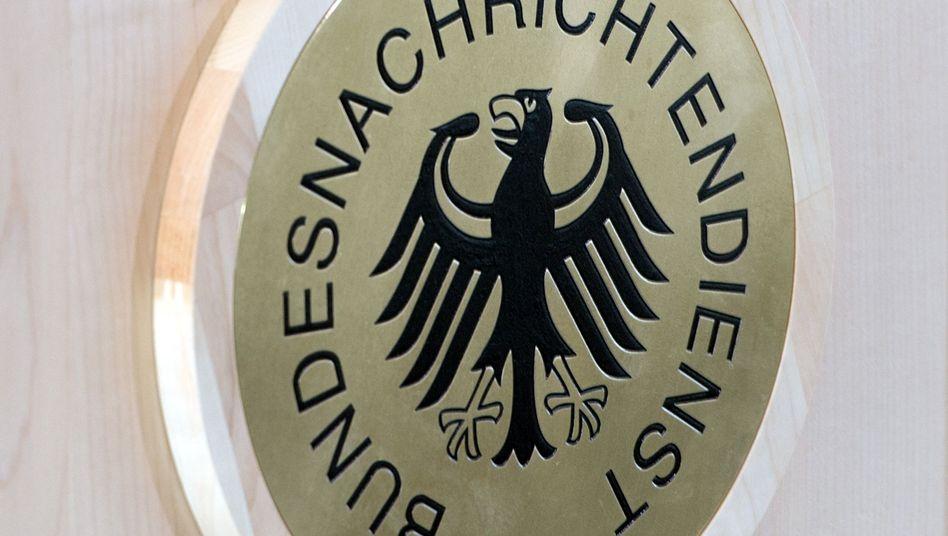 BND-Logo: Digitale Aufrüstung